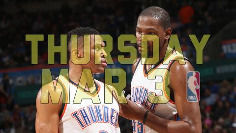 NBA Daily Show: Mar. 3 - The Starters