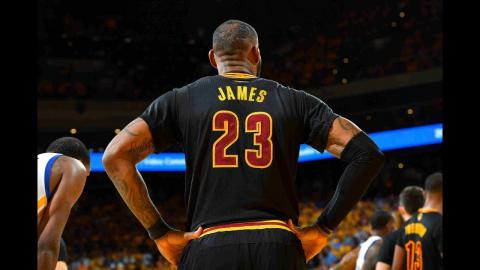 LeBron James Tallies Record Tying 8th Finals Triple-Double