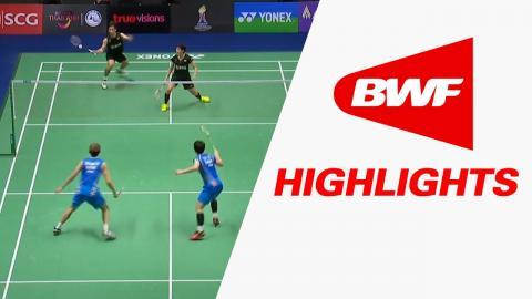Princess Sirivannavari Thailand Masters 2017 | Badminton F – Highlights