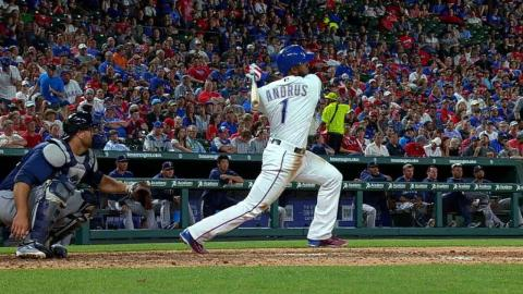 SEA@TEX: Andrus lines an RBI single to right field