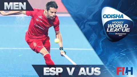 Spain v Australia QF Highlights - Odisha Men's Hockey World League Final - Bhubaneswar, India