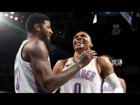 Russell Westbrook and Paul George Combine For 63 Pts | December 27, 2017