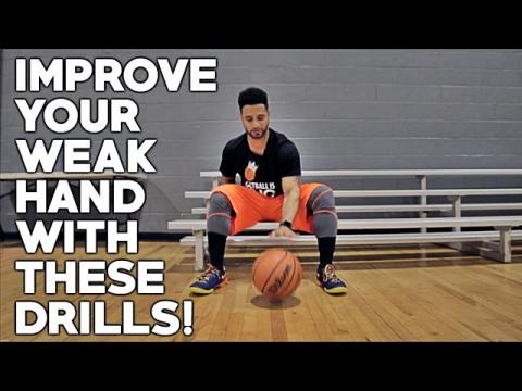 Basketball Weak Hand Development Drills! (IMPROVE YOUR OFF HAND)