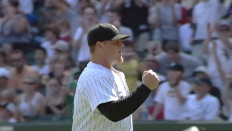 SEA@CWS: Jenks retires 41 straight batters, ties mark