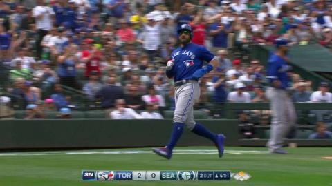 TOR@SEA: Donaldson singles for his third RBI