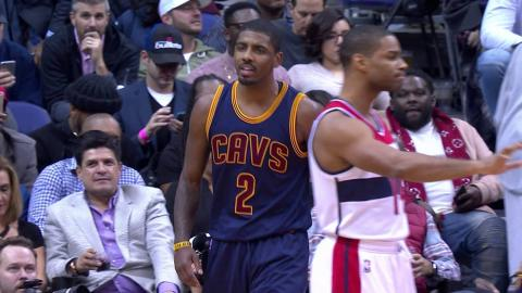 LeBron James and Kyrie Irving Go Off on the Wizards