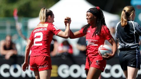 Seven incredible tries from Canada Sevens in Langford