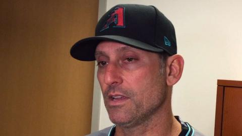 ARI@MIN: Lovullo on pitching struggles in loss