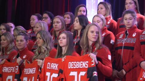 Women's roster named for PyeongChang