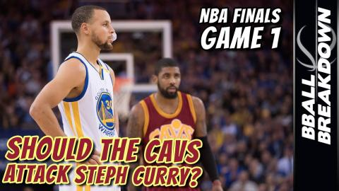 Should The CAVS ATTACK STEPH CURRY?