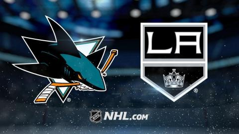 Balanced attack leads Sharks past Kings, 4-1