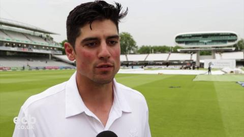 Alastair Cook awarded CBE in Queen's Birthday Honours List