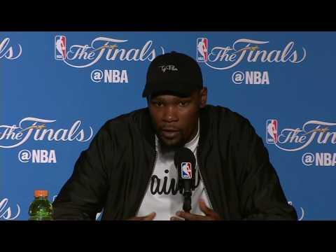 Draymond Green, Kevin Durant NBA Finals Game 2 Press Conference