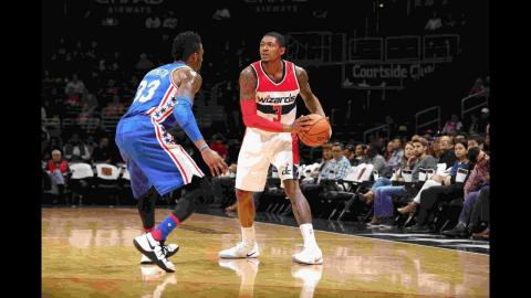 Bradley Beal's 22 Points Leads Wizard Blowout Over 76ers