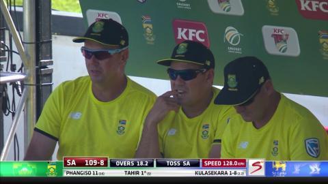 South Africa vs Sri Lanka - 2nd T20 -    Imran Tahir Wicket
