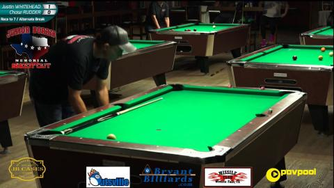 #8 • Justin WHITEHEAD vs Chase RUDDER • 2017 Junior Norris 10-Ball