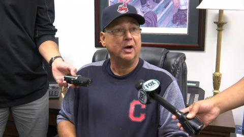 CLE@TEX: Francona praises pitching in win