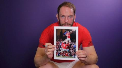 Competition: Win a signed Alun Wyn Jones photo from 2012!   NatWest 6 Nations