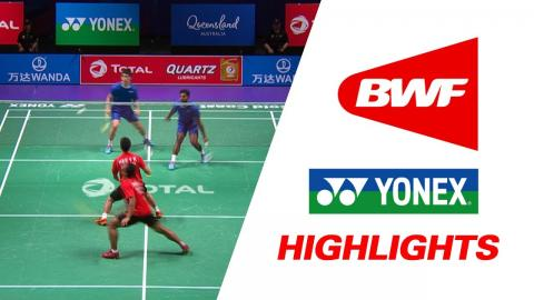 TOTAL BWF Sudirman Cup 2017 | Badminton Day 5 Grp 2B-SGP vs AUS – Highlights