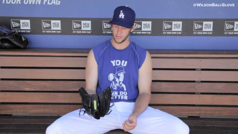 Clayton Kershaw and the new A2000 CK22 GM Glove