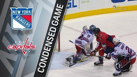 12/08/17 Condensed Game: Rangers @ Capitals