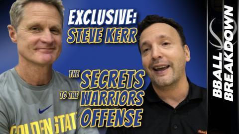 Steve Kerr EXCLUSIVE: SECRETS To The WARRIORS Offense