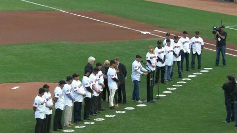 ARI@SF: Giants honor 1997 team that won 90 games