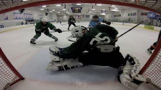 Jersey Whale Hockey - Whale Vs. Swagger Sharks (GoPro Net Cam Highlights - 4/15/15)