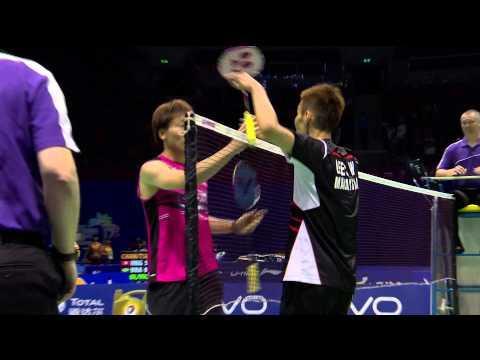 VIVO BWF SUDIRMAN CUP 2015   Korean vs Malaysia - Day 1 Highlights