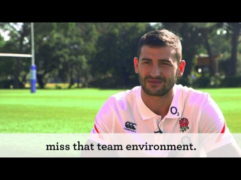 Jonny May interview, Portugal training camp