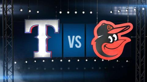 6/29/15: Rangers ride homers to victory over O's