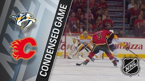 12/16/17 Condensed Game: Predators @ Flames