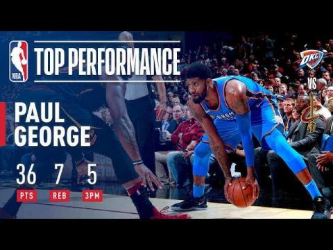 Paul George's ELECTRIC Performance vs The Cavaliers