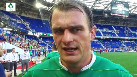 Irish Rugby TV: Rhys Ruddock Post Match Interview