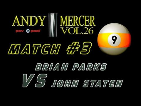 #3 • Brian PARKS vs John STATEN • 2016 Mercer 9-Ball
