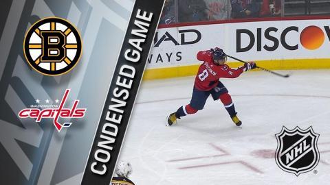 12/28/17 Condensed Game: Bruins @ Capitals