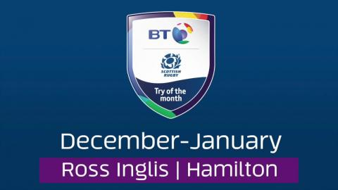 BT Try of the Month - December-January