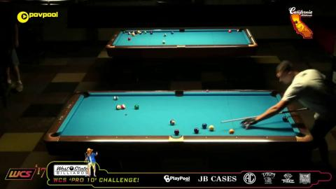 #1 Shane VanBOENING vs Billy THORPE / 2017 WCC One Pocket