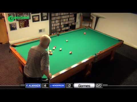 #4 • John HENDERSON vs Frank ALMANZA • James Boch's One Pocket Challenge