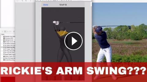 Golf Are The Arms Just Along For The Ride Rickie Fowler On Gears