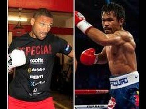Manny Pacquiao vs Kell Brook End Of 2015 ?! WTF ? Mayweather vs Brook Is The Fight !!!