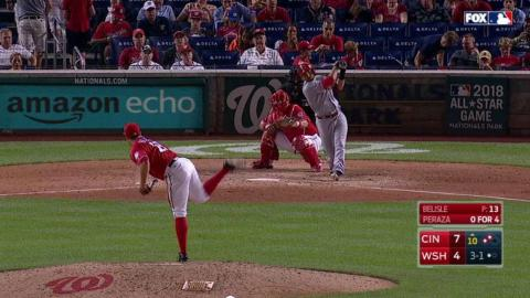 CIN@WSH: Peraza extends lead with RBI single in 10th