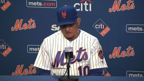 SD@NYM: Collins on the positives of 4-3 loss to SD