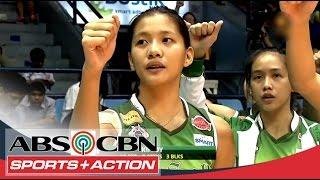 UAAP 77 Women's Volleyball: DLSU Vs NU Full Game HD