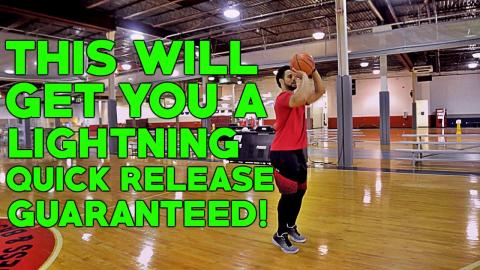 How To Shoot A Basketball Faster | Basketball Shooting Drills To Get A Quicker Release!