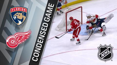 01/05/18 Condensed Game: Panthers @ Red Wings