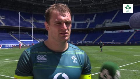 Irish Rugby TV: Rhys Ruddock At The Captain's Run