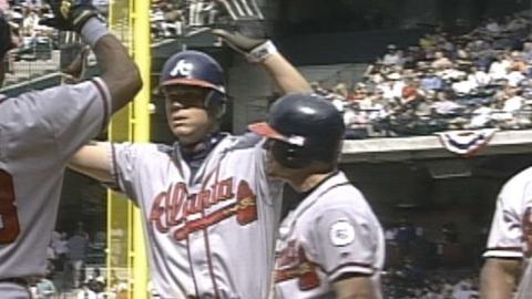 2001 NLDS Gm1: Chipper's three-run homer in 8th
