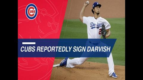 Darvish reportedly signs six-year deal with the Cubs
