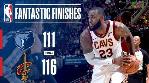Grizzlies vs. Cavaliers Best Plays From Crunchtime | December 2, 2017